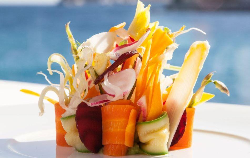 Elsa Monaco Dishes - Michelin Starred Restaurant