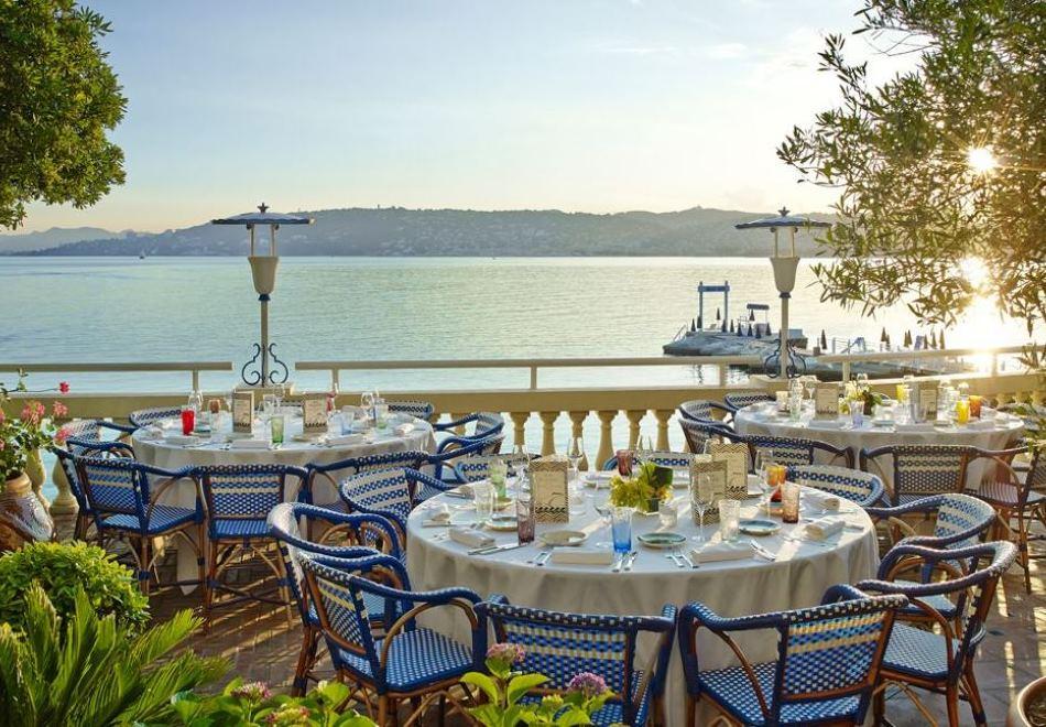 La Passagère Michelin Starred Restaurant Antibes Terrace