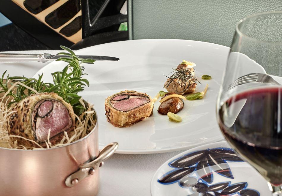 La Passagère Michelin Starred Restaurant Antibes main course