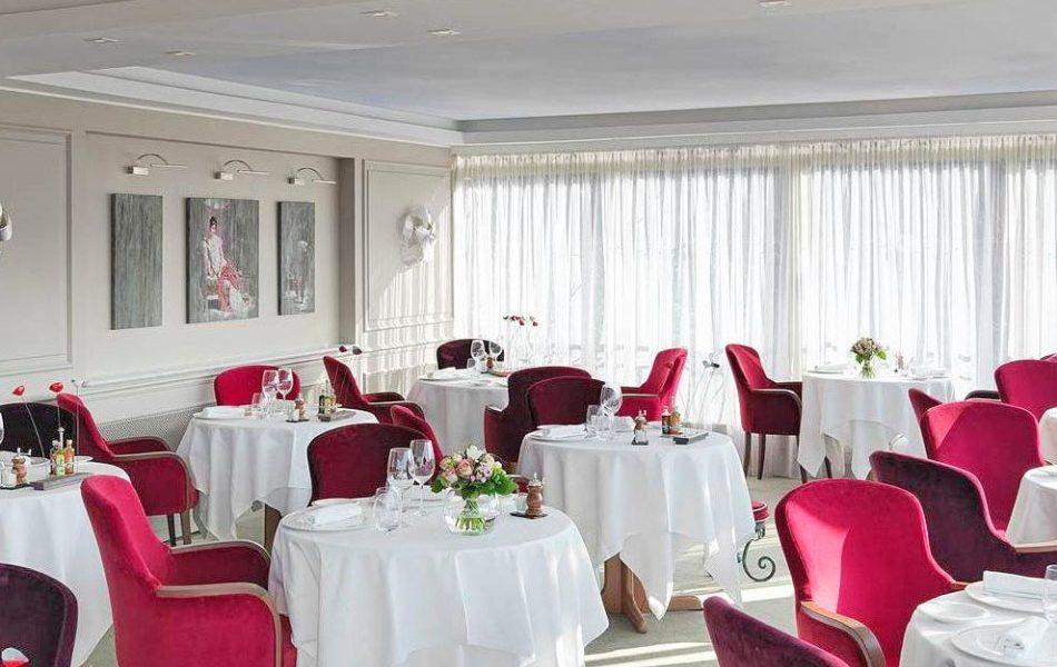 Le Candille Mougins Interior - Michelin Starred Restaurant