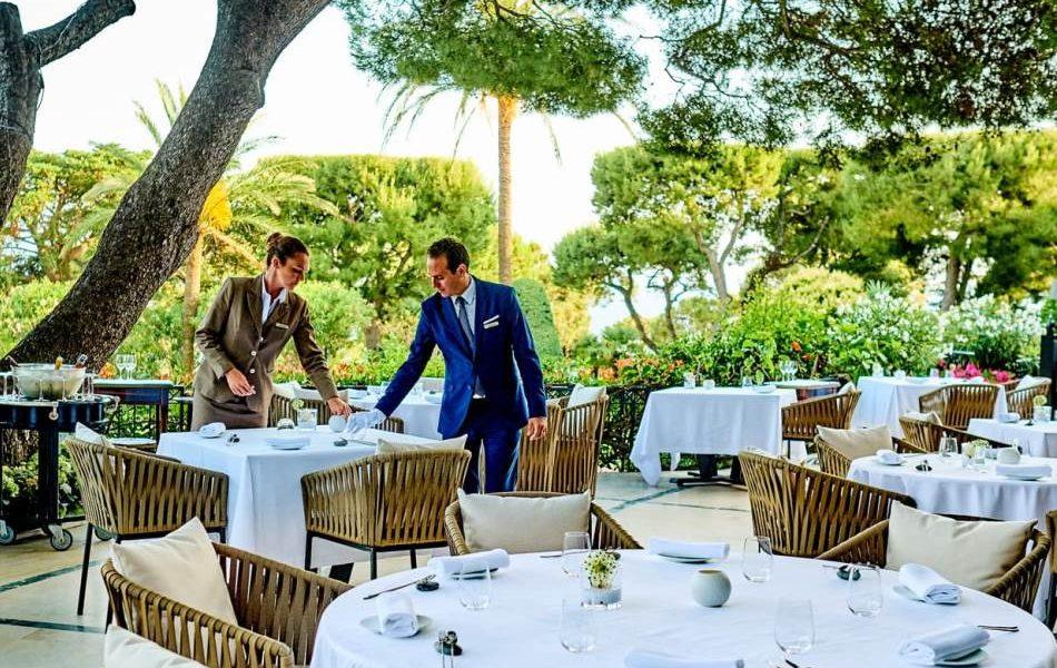 Michelin Starred Restaurant Le Cap Terrace