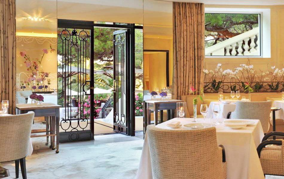 Michelin Starred Restaurant Le Cap Interior - Saint Jean Cap Ferrat