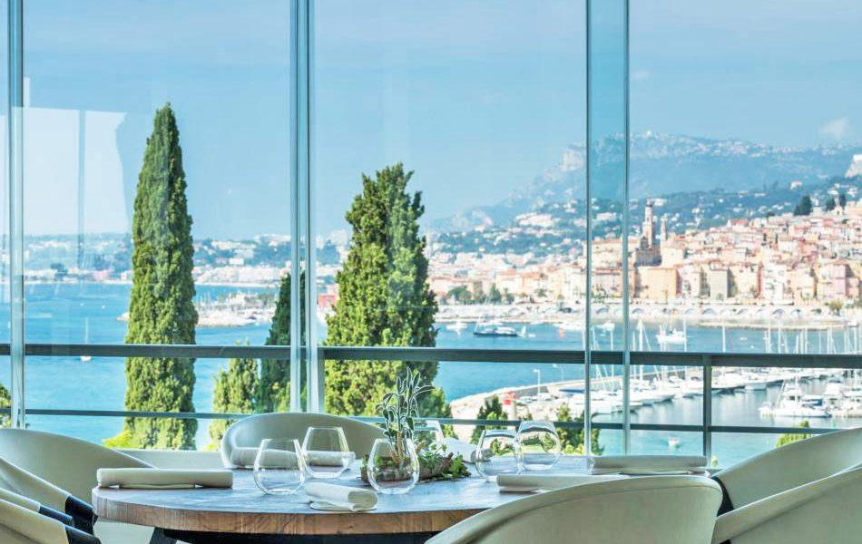 Restaurant Mirazur Menton - View