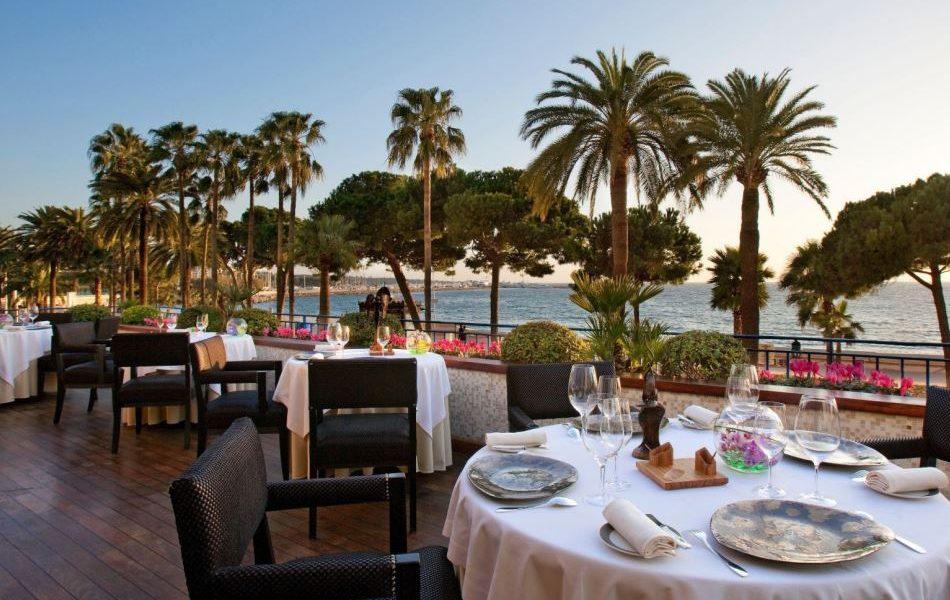Restaurant La Palme d'Or - View