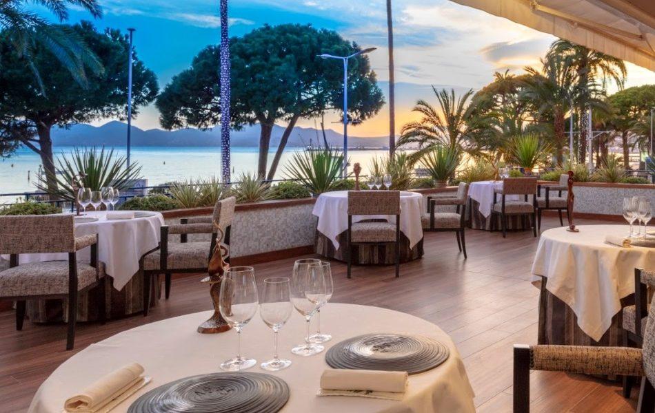 Restaurant La Palme d'Or Cannes - Terrace