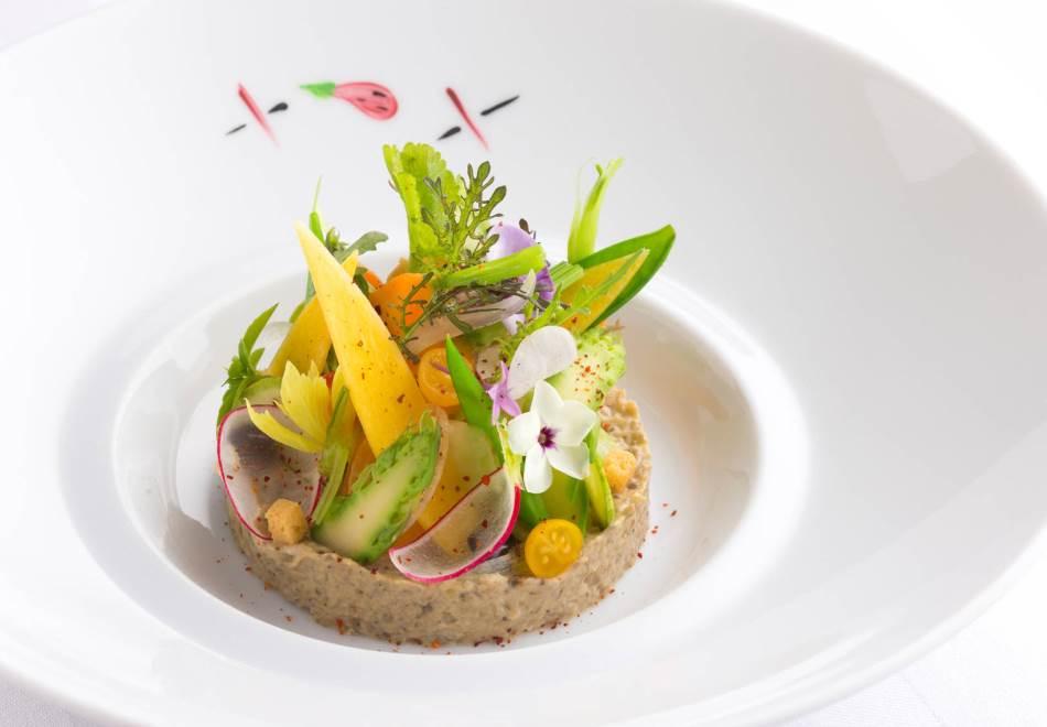 Restaurant Joel Robuchon Monaco - Dishes Michelin Star