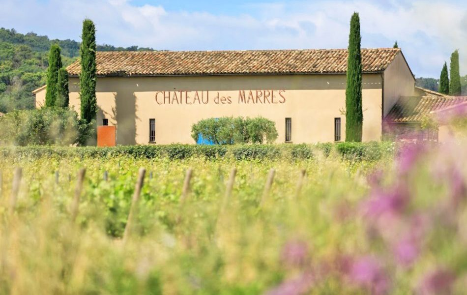 Chateau Des Marres Wine Tasting