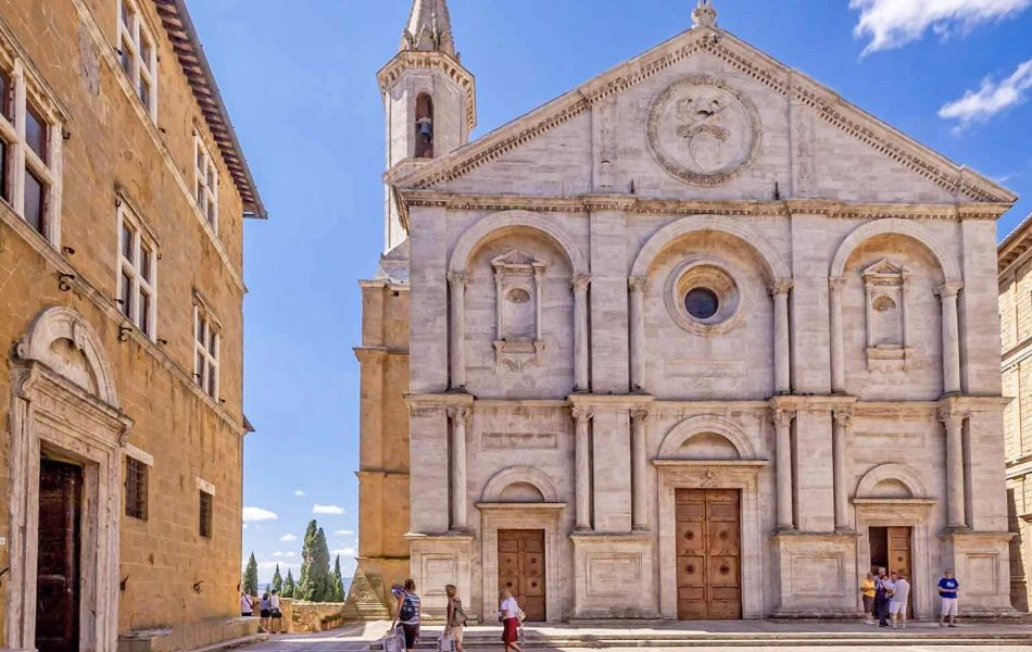 Pienza town in Italy