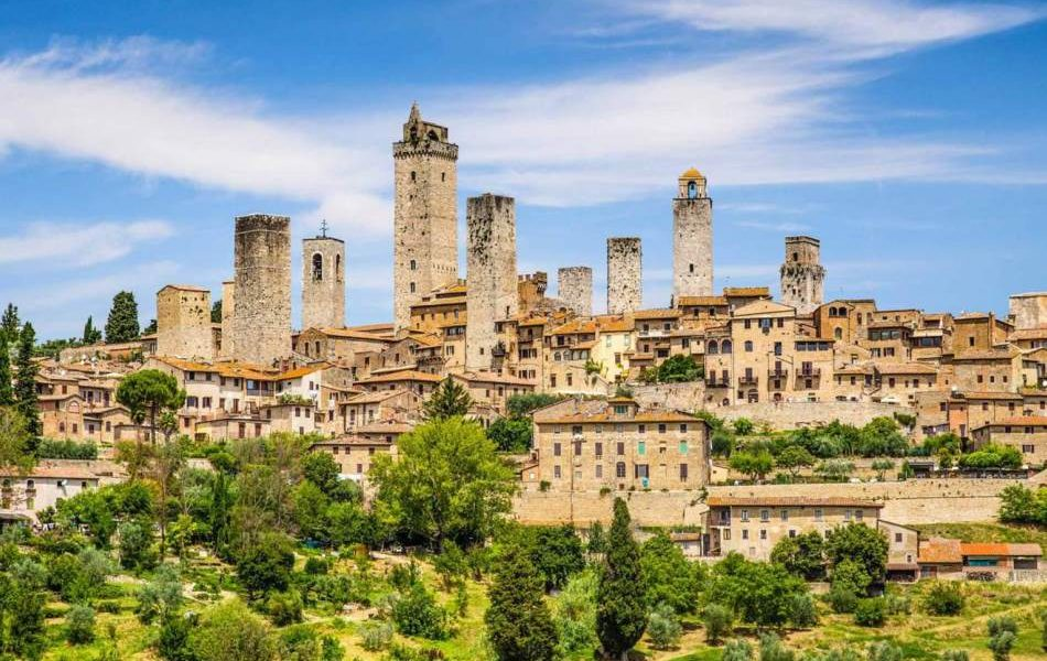 San Gimignano medieval towers