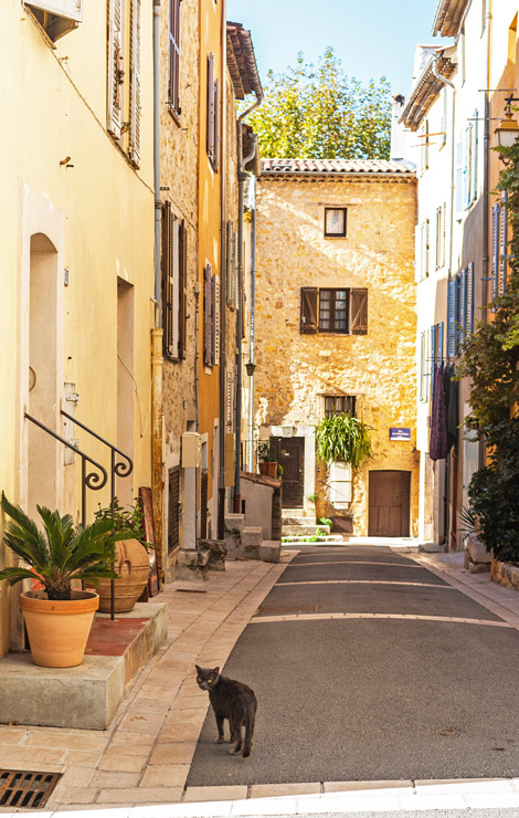 Streets of Valbonne