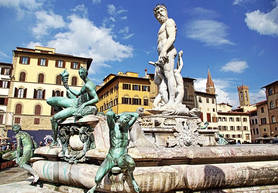Neptune at Piazza della Signoria Florence