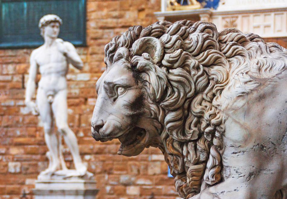 David Michelangelo at Piazza della Signoria Florence