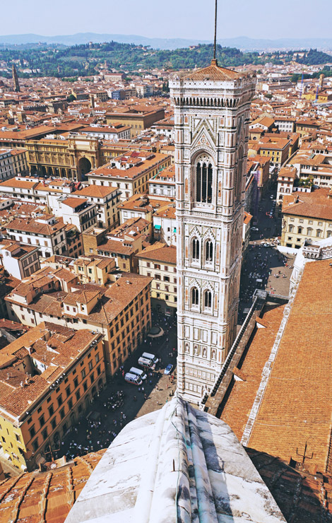 Giotto tower Duomo Florence