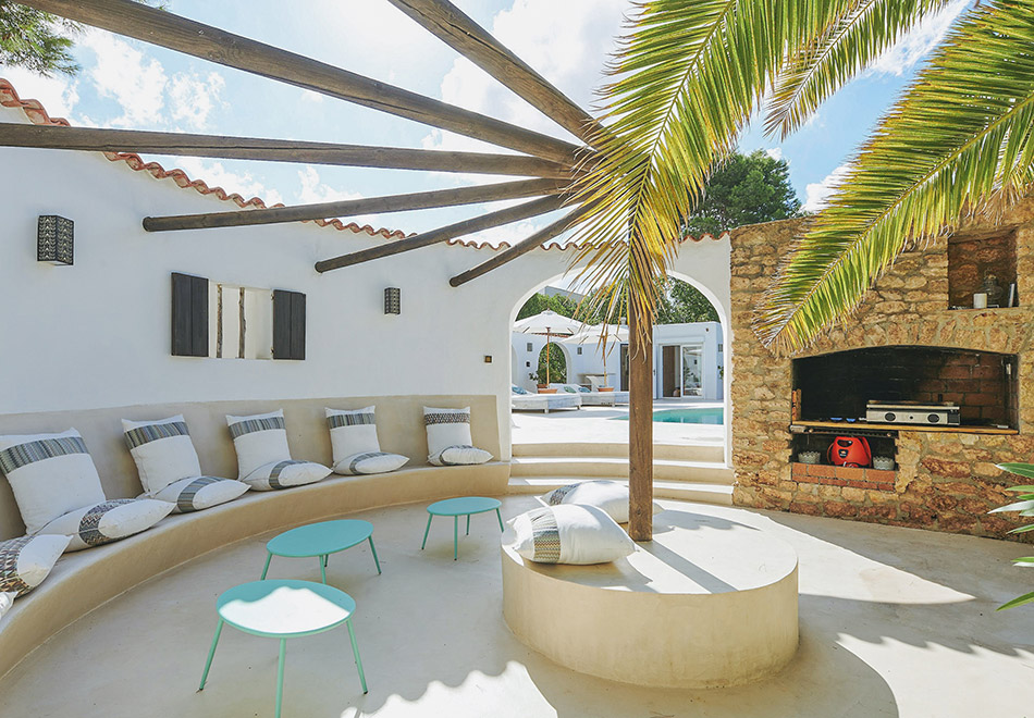South West Ibiza luxury villa for rent