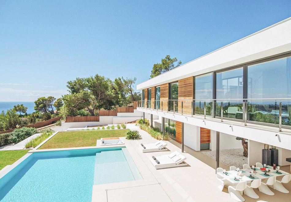 Ibiza luxury holiday villa not far from Ibiza Town
