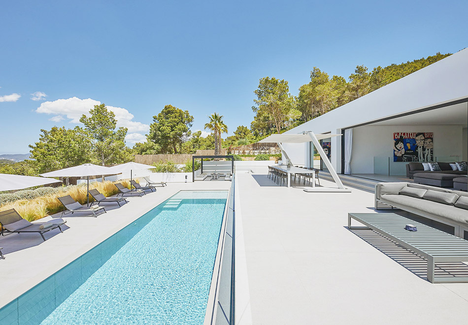 Ibiza luxury vacation rental near San Jose